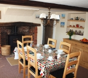 Bed and Breakfast - Dining Room