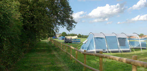 Camping in North Norfolk