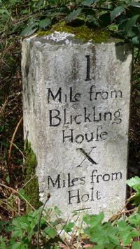 Blickling - milestone